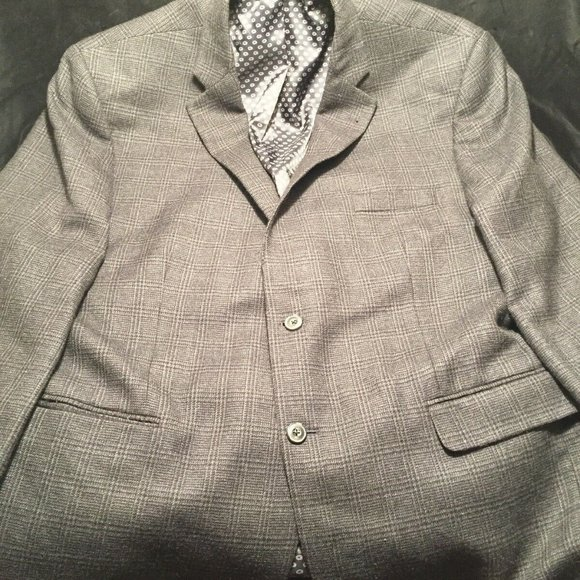 Jos. A. Bank Other - Jos A Bank Sport Coat Blazer Wool 48R Big & Tall